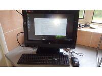 hp touchsmart touchscreen pc