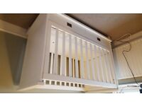 Kidsmill Shakery Cot Bed White
