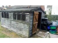 """Garden shed 14""""x10"""