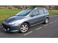 Peugeot 307 SW 1.6 HDI (Diesel) 110 BHP ...Call Hardial NOW