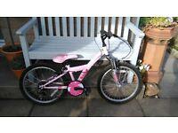 Apollo Kinx girls bike age 7-9 approx