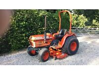 Kubota 2150 4wd HST Compact tractor with Kubota 5ft RC60-21R midmounted mower
