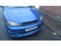 Vauxhall astra coupe turbo gsi braking irmscher bumpers,cobra exhaust,ect