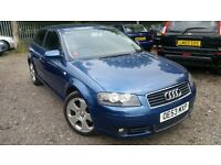Audi A3 2.0 FSI Sport 3dr, HPI CLEAR, CAMBELT CHANGED, LONG MOT, DRIVES NICE & SMOOTH, P/X WELCOME