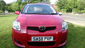 TOYOTA AURIS 1.4 DIESEL 5 DOOR HATCH 1 OWNER FULL HISTORY £30 TAX