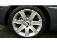 Bmw 17 inch alloys with tyres