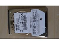 Toshiba MK1655GSX 160GB Laptop SATA Hard Drive