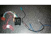 MK5 Golf Double Din Fascia + radio adaptor