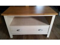 Wooden TV cabinet with large drawer
