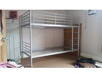 Ikea svarta bunk bed