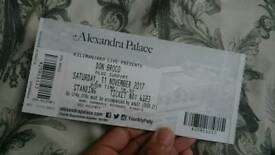 Don Broco standing ticket Alexandra Palace 11th November