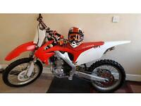 Honda crf250 2012 model crosser dirt bike