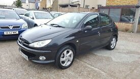 2006 Peugeot 206 1.6 Sport 5dr / 2 OWNERS / F/S/H/