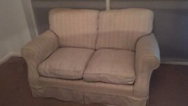 Two seater sofa FREE TO COLLECT