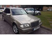 Mercedes Benz C220 CDI Diesel Auto in excellent condition, 1 year MOT, for sale. No time wasters