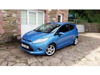 Ford Fiesta Zetec S 1.6 tdci diesel * long mot * low mileage 57k * cheap tax
