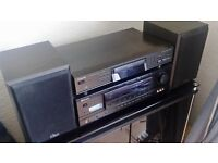 Sherwood 6.1 cinema receiver/ tecxhnics CD player/Pr of Gale monitor speakers.