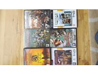Pc games. Caesar 3, stronghold 2, medieval conquest, age of mythology the titans