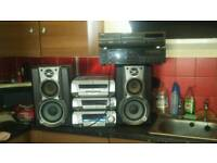 technics stereo and extras