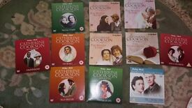 11 new Catherie Cookson DVDs as follows Hours of old fashioned entertainment