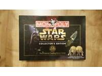 Star Wars Monopoly, 20 Year Anniversary Collecters Edition 1977-1997.