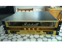 Marshall 9100 dual monoblock amp 50W per channel
