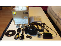 Nikon D90 body only in very good condition with genuine box and spare battery