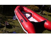 Bombard Aerotech 380 inflatable rib sib boat with Suzuki 20hp efi outboard