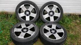 "Vauxhall 17"" Omega MV6 Alloys"