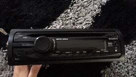 Sony CDX-GT26 car stereo in good condition