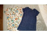 Two girl dresses from Next, age 6. Worn but perfect condition, hardly worn.