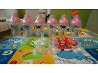Tommee tippee bottles and teats