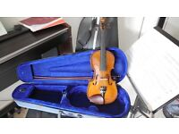Mint Condition Beginners 1/2 size Stentor Violin