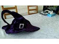 Halloween adult witches hat