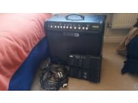 Line 6 'SPIDER IV 75' Guitar Amplifier and FBV MKII foot controller - amp in excellent condition