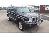 Jeep Commander 3.0 CRD V6 Limited Station Wagon 4x4 7 SEATER FULL LEATHER INTERIOR