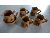 Peebles Pottery Mug Set