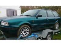 Audi1 80 TDI Estate. 1.9 Diesel. Good solid Project