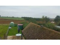 Room with a view 32Mb broadband and bills incl