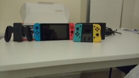 Nintendo Switch including box and spare controller