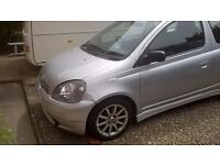 Toyota yaris 1.3 sport sr in silver with 85k low miles
