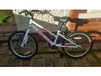 "Girls bike, 20"". Great condition. Age 7-10."