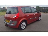 RENAULT SCENIC 1.6 AUTOMATC IN CLEAN CONDITION. LONG MOT & TAX. 1 PREVIOUS OWNER. HPI CLEAR
