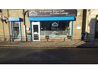 NIMBUS E CIGARETTE EMPORIUM & COFFEE LOUNGE BINGLEY/ E cigarette shop Bradford BD164BD