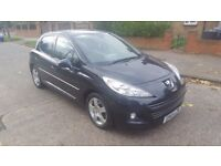 2010 Peugeot 207, 5 door, Automatic, MOT 01/08/2018, Tinted windows.