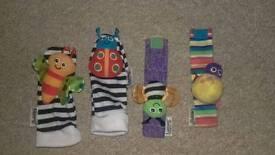 Lamaze Sensory socks and wrist bands