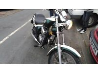 2001 Gilera cougar 125cc cruiser, chopper