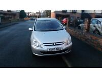 Peugeot 307 2.0 HDI 2003 Silver Very Cheap Car