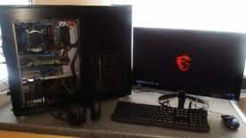 Powerful gaming PC setup!