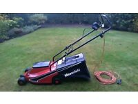classic electric lawnmower